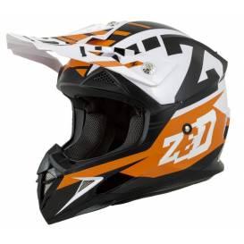 Helmet X1.9D ZED, children (orange / black / white)