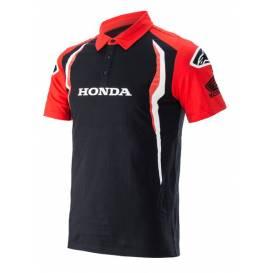 Triko s límečkem HONDA 2021, ALPINESTARS (červená/černá)