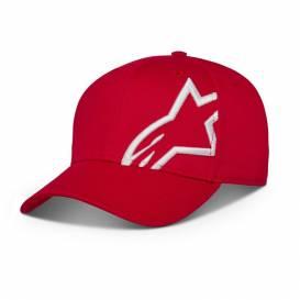 Kšiltovka CORP SNAP 2 HAT, ALPINESTARS (červená/bílá)