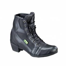 Women's leather motorcycle boots W-TEC Beckie W-5036