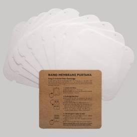 Náhradní nano filtry pro nákrčníky, PURTANA (10 ks)