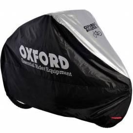 Plachta na bicykel Aquatex, OXFORD (čierna / strieborná)