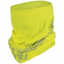Nákrčník TECH TUBE PRO COOLMAX®, OXFORD (žlutá fluo/reflexní)