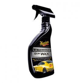 Meguiar's Ultimate Quik Wax - vylepšený polymerový rychlý vosk, v rozprašovači, 473 ml