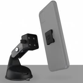 Držák mobilních telefonů/kamer/navigací CLIQR, sada s přísavkou, OXFORD