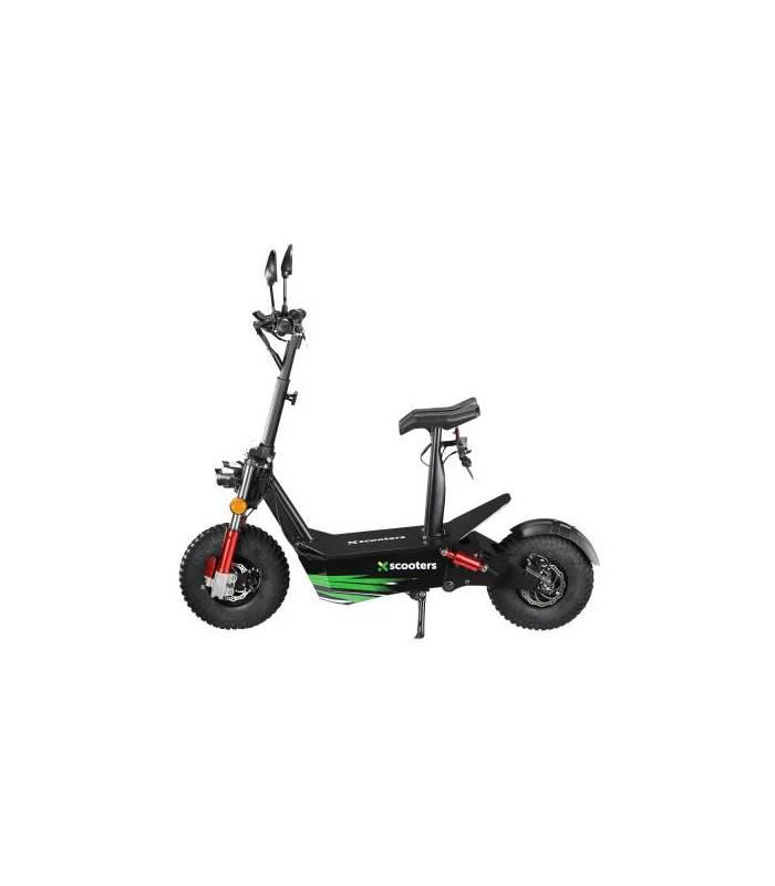 X-scooters XR04 EEC 60V Li Černá
