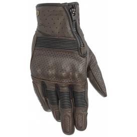Gloves RAYBURN 2, ALPINESTARS (brown)