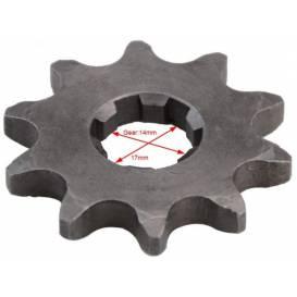 Řetězové kolečko XB27/XB87 420-15Zb