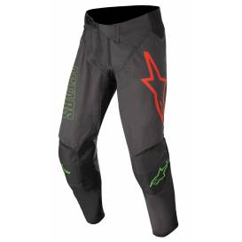 Kalhoty TECHSTAR PHANTOM 2022, ALPINESTARS (černá antracit/zelená neon)