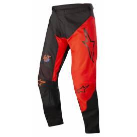 Kalhoty RACER SUPERMATIC 2022, ALPINESTARS (černá/červená)