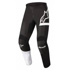 Kalhoty FLUID CHASER 2022, ALPINESTARS (černá/bílá)