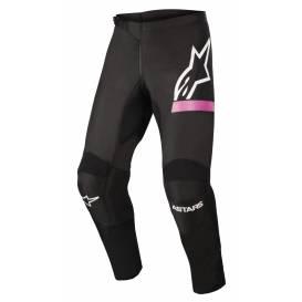 Kalhoty STELLA FLUID CHASER 2022, ALPINESTARS, dámské (černá/růžová fluo)