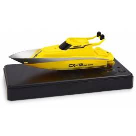 Siva Mini Racing Yacht 2.4 GHz, žlutá