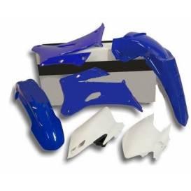Sada plastů Yamaha, RTECH - Itálie (modro-bílé, 4 díly)