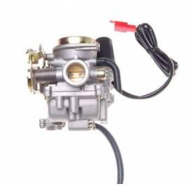Karburátor 50cc 4t pro skútry - kovové víčko