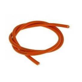 Kábel zapaľovania červený 5mm - 0,5m