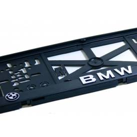 Podznačka 3D - podložka SPZ- BMW (chrom) - (1 Ks)