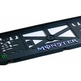Podznačka 3D MONSTER (black)- (1 Ks)