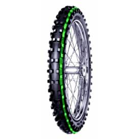 Tires 90 / 90-21 (54R) C-19 TT SUPER LIGHT (green stripe), MITAS - CZ