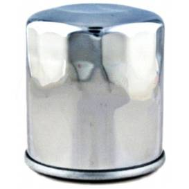 Oil filter HF303C, HIFLOFILTRO (Chrome)