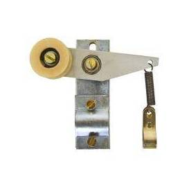 Chain tensioner for motorcycle with spring