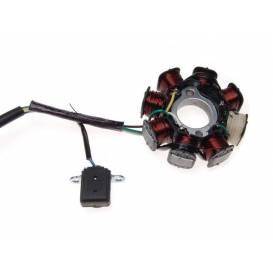 Magneticko - Cievky skúter GY6 - 8 cievok (30mm)