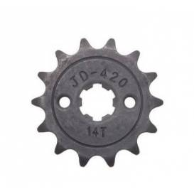 Řetězové kolečko přední 110cc/125cc