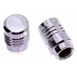 Tuningové krytky ventilov chróm (2ks)