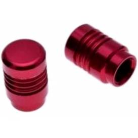 Tuningové krytky ventilov červené (2ks)