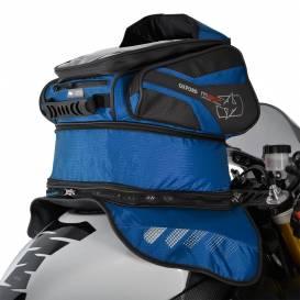 Tankbag na motocykl M30R, OXFORD - Anglie (modrý, s magnetickou základnou, objem 30l)