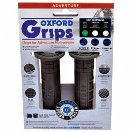 Gripy Adventure, OXFORD - Anglie (tmavě šedá pryž, tvdost pryže medium, pár)