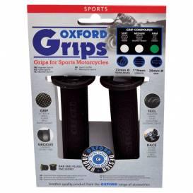 Gripy Sport, OXFORD - Anglie (černá pryž, tvrdost pryže medium, pár)