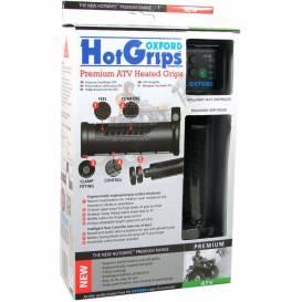 Gripy vyhřívané Hotgrips Premium ATV, OXFORD - Anglie (upravitelná délka gripu 121-130mm)