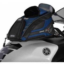 Tankbag na motocykl M2R, OXFORD - Anglie (modrý, s magnetickou základnou, objem 2l)