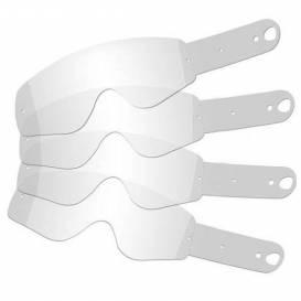 Strhávací slídy plexi pro brýle SCOTT řady HUSTLE/TYRANT, QTECH - EU (10 vrstev v balení)