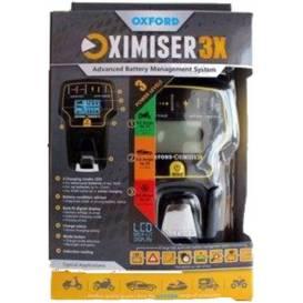 Nabíječka Oximiser 3X, OXFORD - Anglie (12V, 0,6-3,6A, 125Ah)