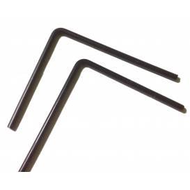 Plexiglass shield rods - 18cm