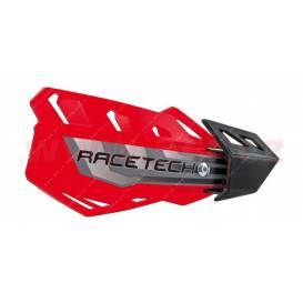 Lever covers FLX, RTECH (red, 4 variants in 1, incl. Mounting kit)