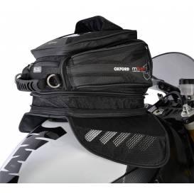 Tankbag na motocykl M15R, OXFORD - Anglie (černý, s magnetickou základnou, objem 15l)