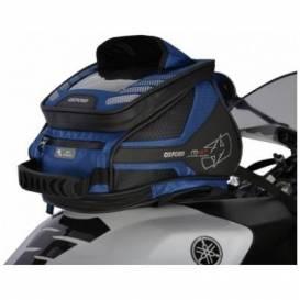 Tankbag na motocykl Q4R QR, OXFORD - Anglie (modrý, s rychloupínacím systémem na víčka nádrže, objem 4l)