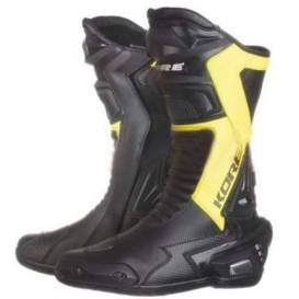 Sport shoes, KORE (black / yellow fluo)