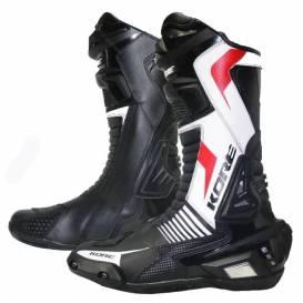 Topánky Šport, KORE (čierne / biele / červené)