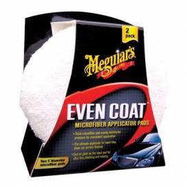 MEGUIARS Even Coat Microfiber Applicator Pads mikrovláknový aplikační polštářek na rozleštění (2kusy)