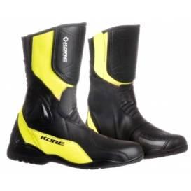 Boty Sport Touring, KORE (černé/žluté fluo)