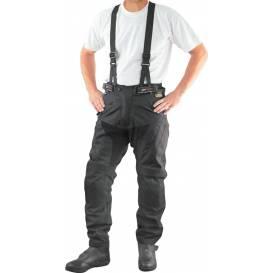 Kalhoty Kodra Strap, ROLEFF - Německo, pánské (černé, odnímatelné kšandy)