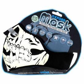 Maska Glow Skull, OXFORD (fluorescenčná potlač)