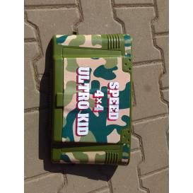 Plastic trunk lid Aku Jeep - green