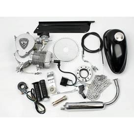 Motorový kit  na motokolo 49cc  2t (přídavný motor na kolo)