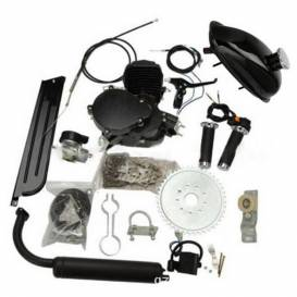 Motorcycle kit 49cc 2t BLACK EDITION (additional bicycle motor)