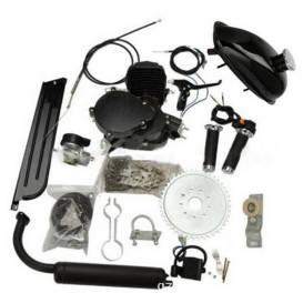 Motorový kit na motokolo 49cc  2t BLACK EDITION (přídavný motor na kolo)